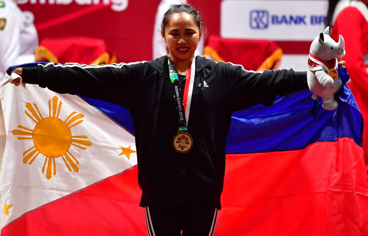 Hidilyn Diaz nabs three silver medals in Asian Weightlifting Championships